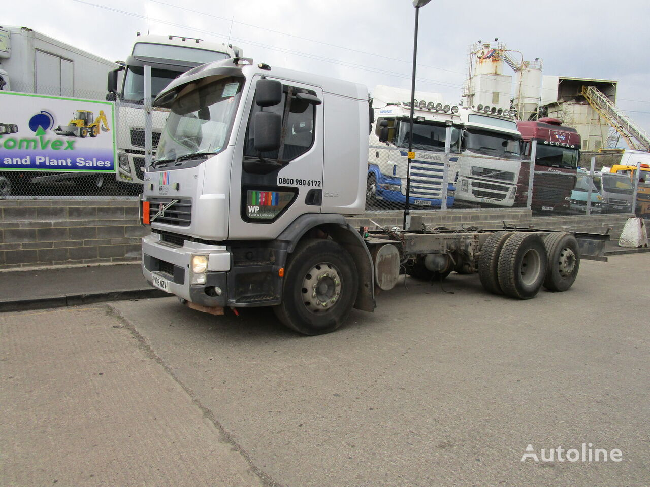 VOLVO FE 320 BREAKING FOR SPARES chassis truck for parts