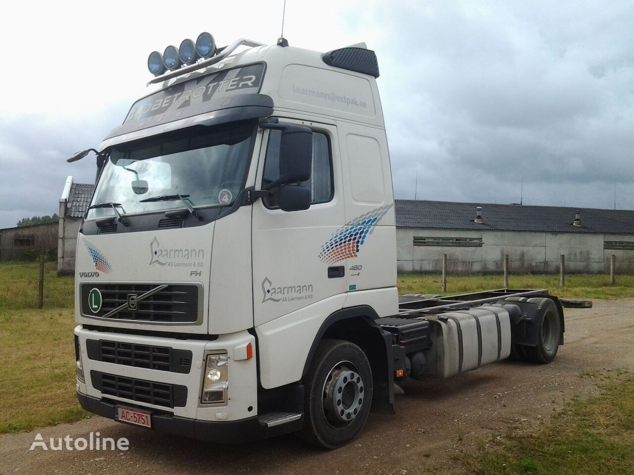 VOLVO FH 12 480 chassis truck
