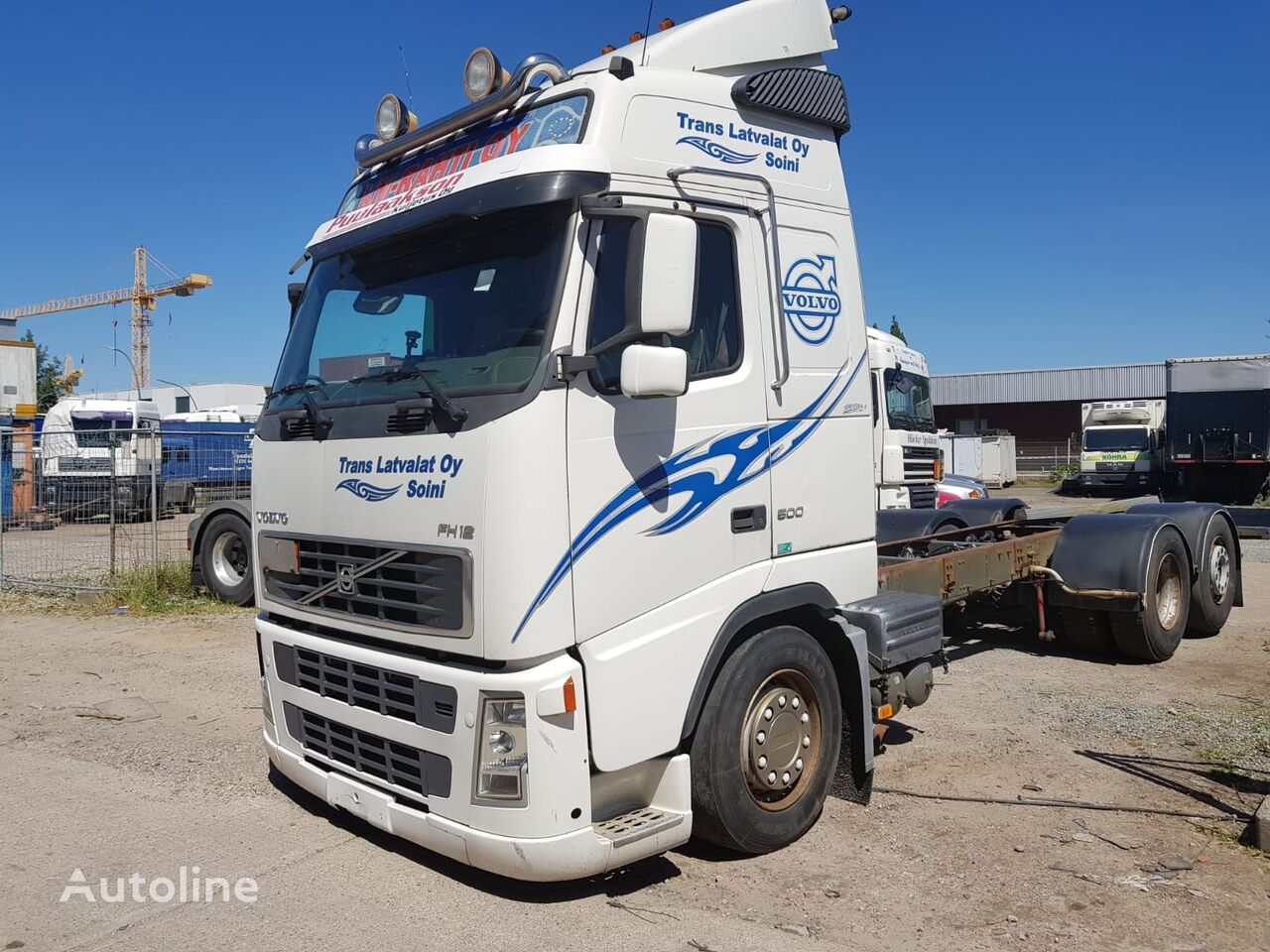 VOLVO FH12 500HP chassis truck