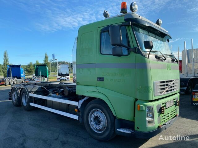 VOLVO FH12 6x2, 460hp ,manual gear chassis truck
