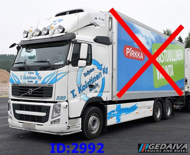 VOLVO FH13 6X4 500 chassis truck