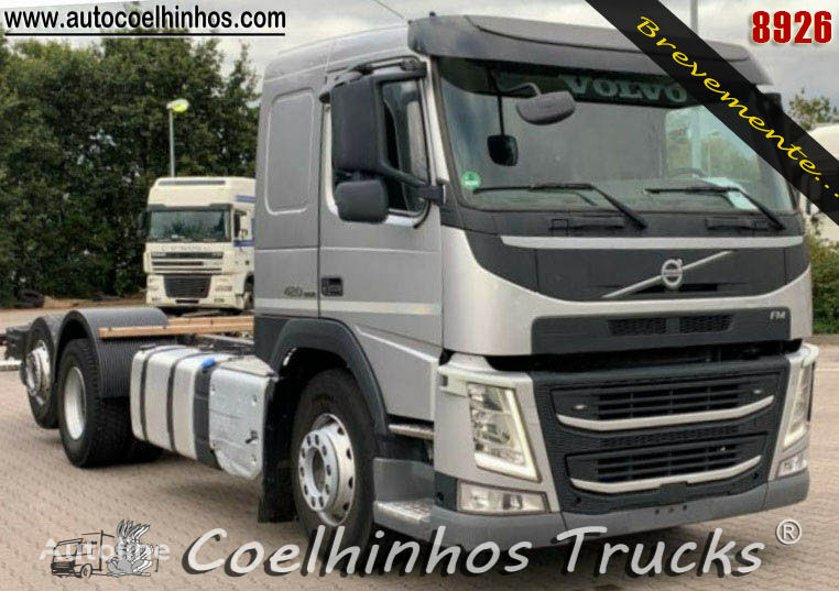 VOLVO FM 420  chassis truck