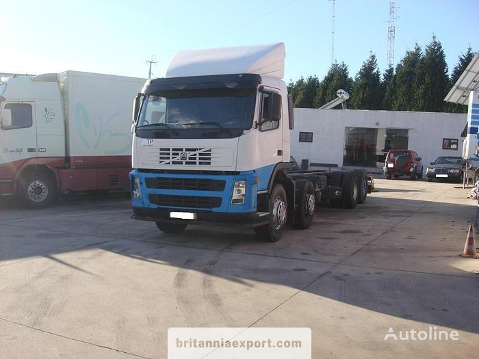 VOLVO FM12 380 left hand drive VEB 8X2 32 ton chassis truck