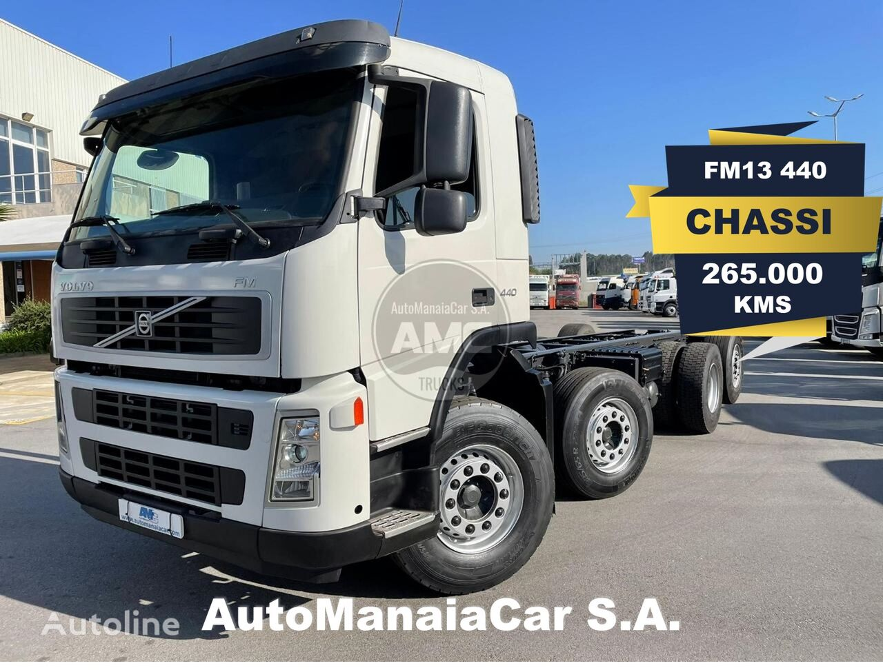 VOLVO FM13 440 chassis truck