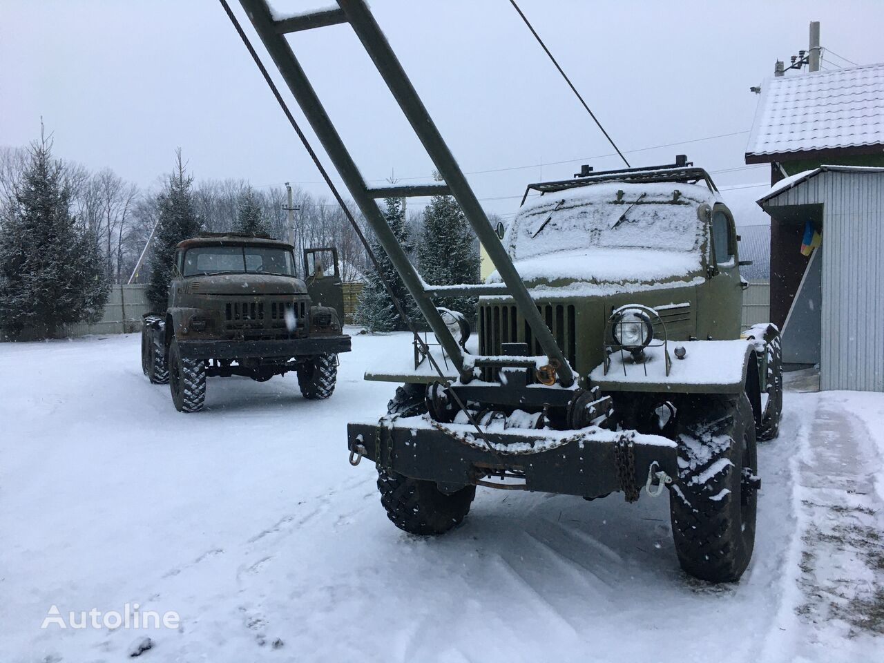 new ZIL 157  chassis truck