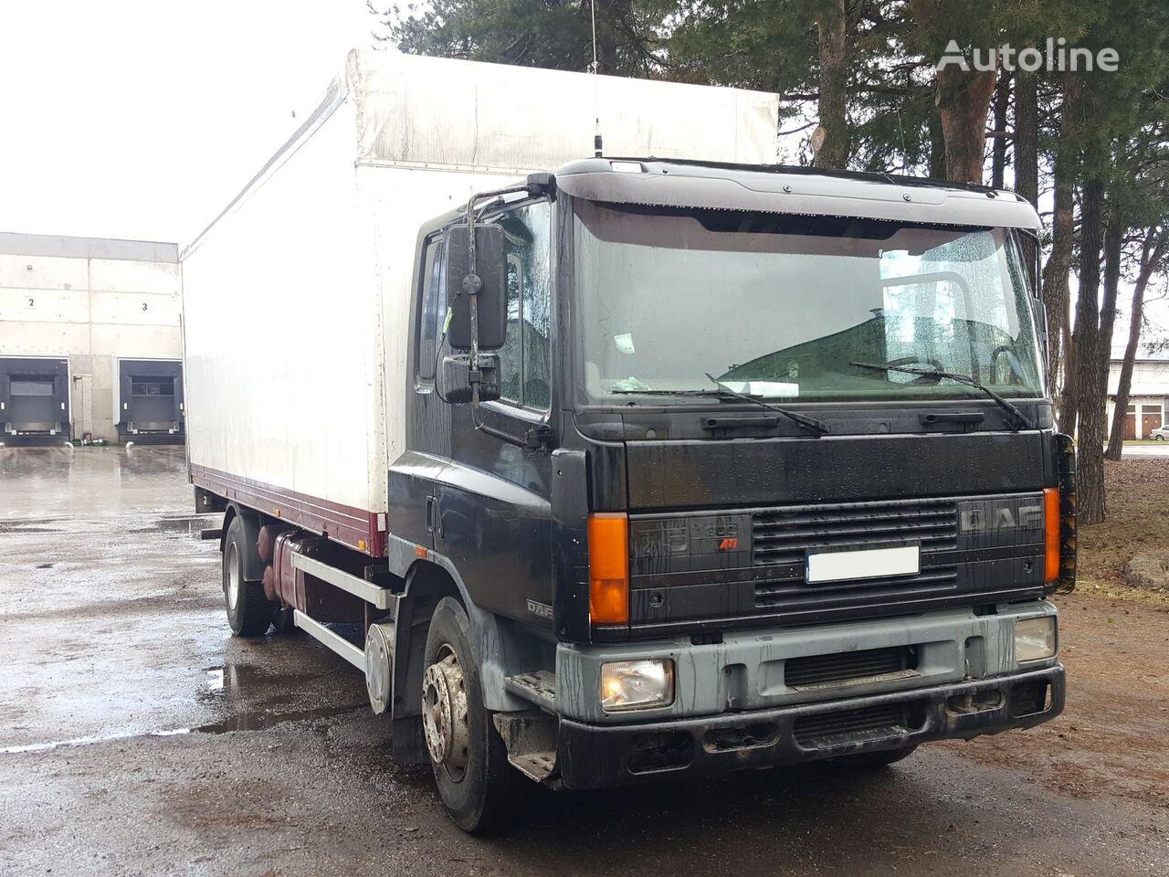 DAF 75.300 ATI closed box truck