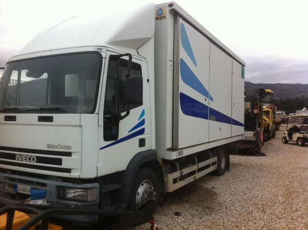IVECO 120 E 23 closed box truck