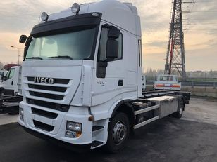IVECO STRALIS AS190S42FP container chassis