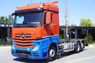 MERCEDES-BENZ Actros 2542 , E6 , 6X2 , BDF , chassis 7,2m , retarder , 2 beds  container chassis
