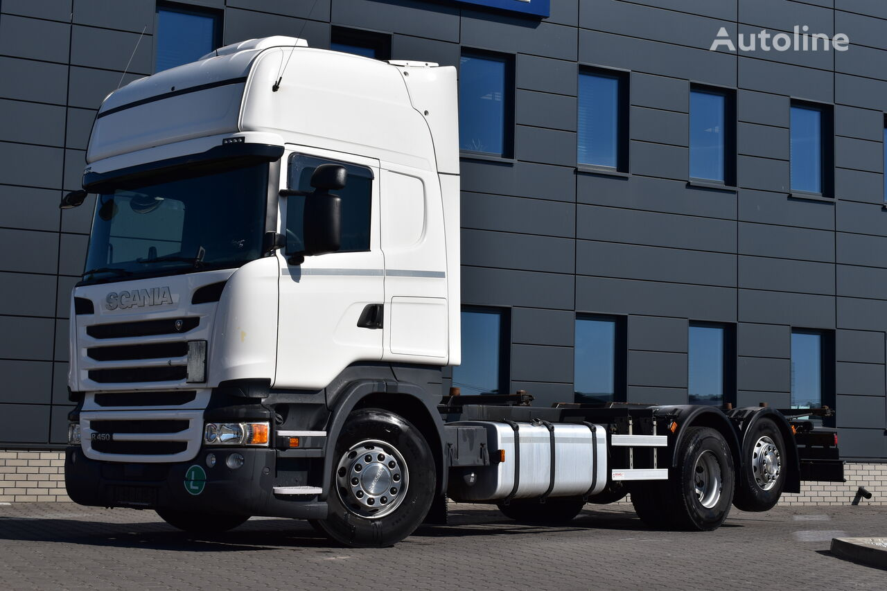 SCANIA R450 BDF TOPLINE 2017 !! container chassis