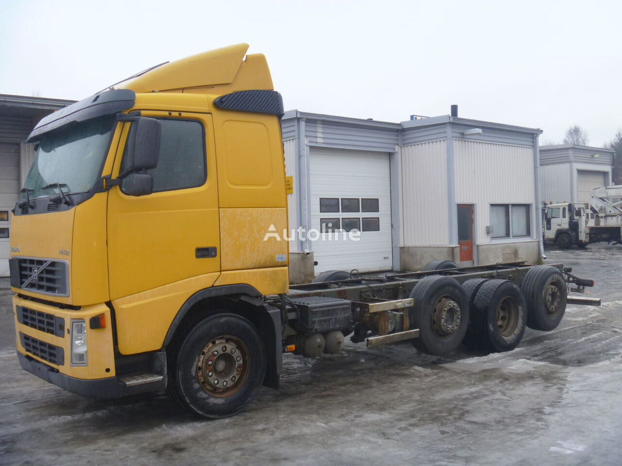 VOLVO FH12 460 container chassis