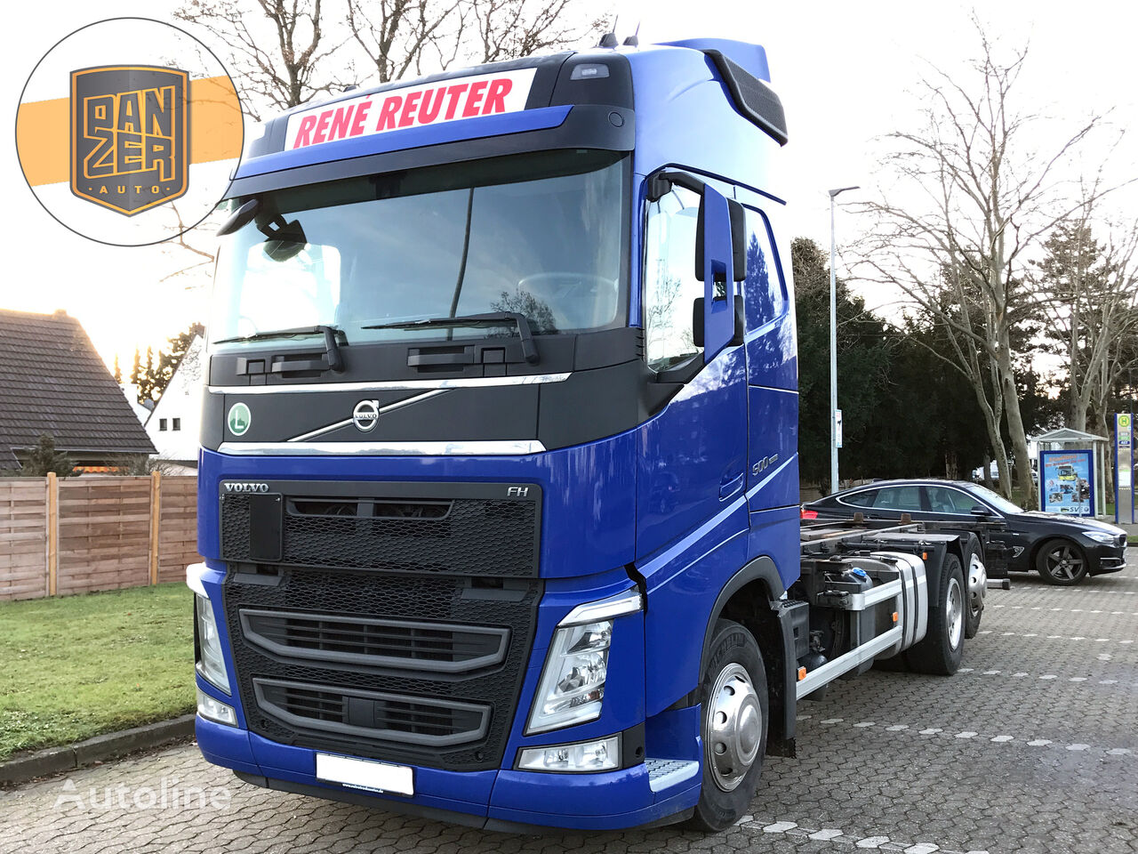 VOLVO FH500 container chassis
