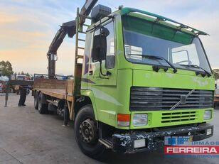 VOLVO FL 10 6X2/ Grua hiab 290/cubos reduzidos container chassis