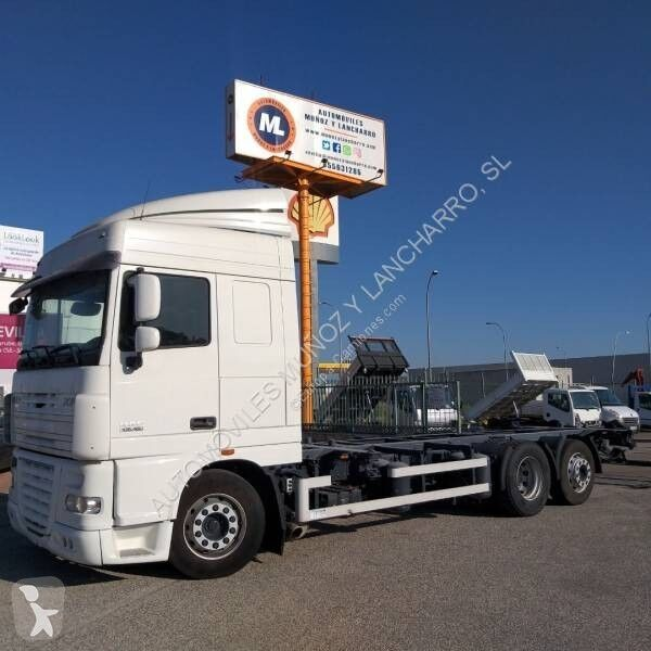 DAF 105.460 container chassis