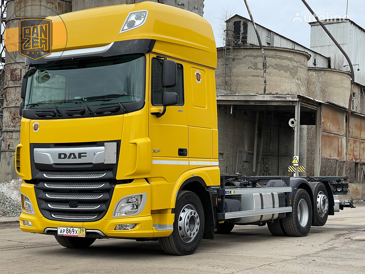 DAF XF 480 container chassis