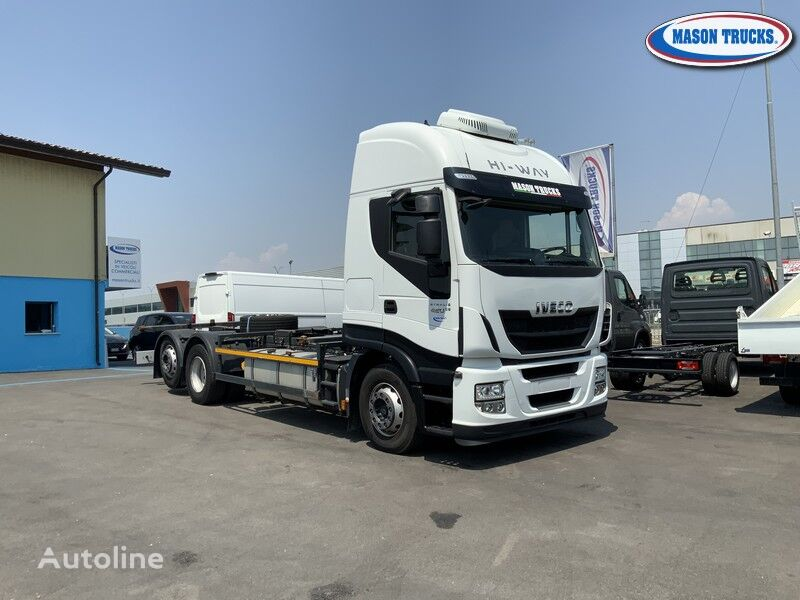 IVECO Stralis 420 container chassis