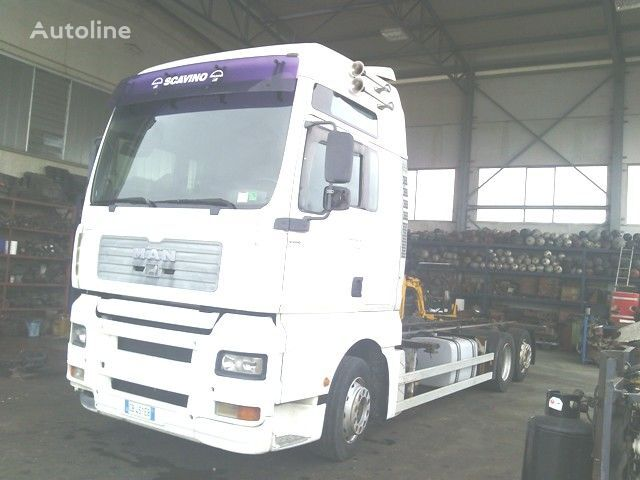 MAN TGA 26.410 XXL container chassis