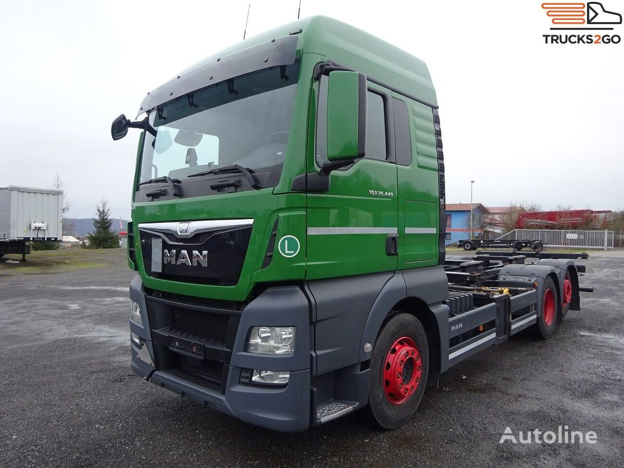 MAN TGX 26.440 container chassis