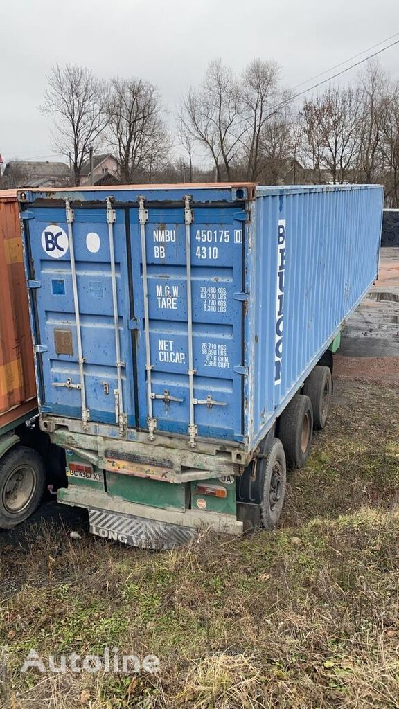 MAZ  93892 container chassis