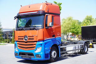 MERCEDES-BENZ ACTROS 1842, E6, 4x2, chassis 7m, BDF, GigaSpace container chassis