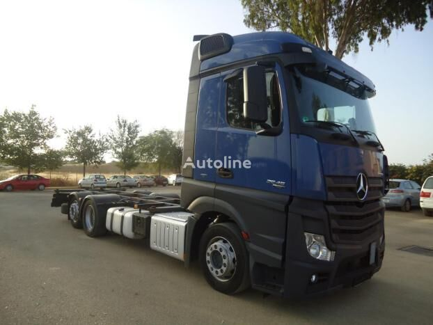 MERCEDES-BENZ ACTROS 25 45 container chassis