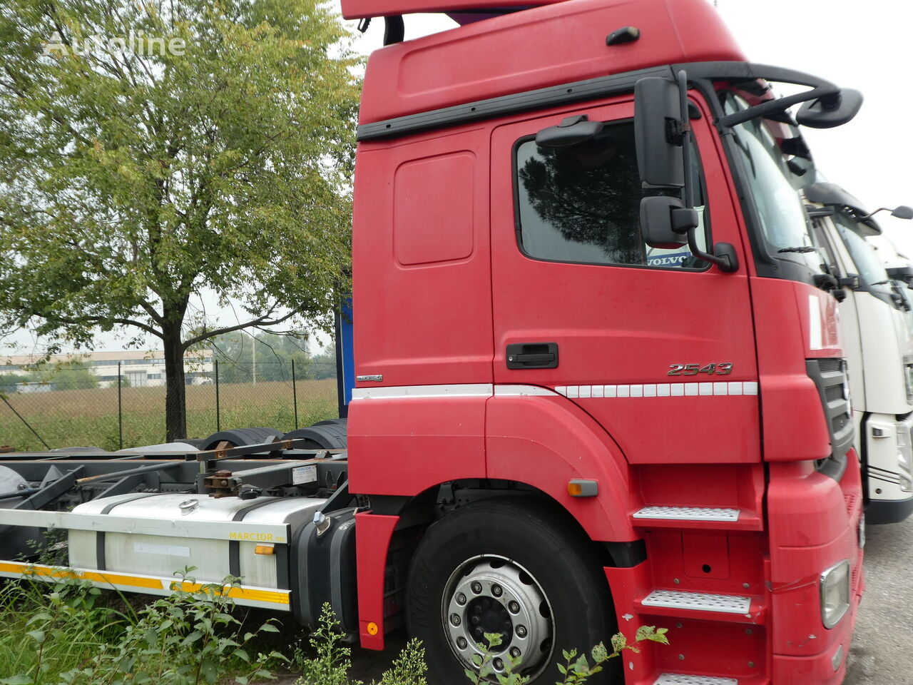 MERCEDES-BENZ ACTROS 2543 E5 CONTAINER container chassis