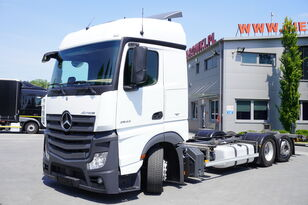 MERCEDES-BENZ Actros 2542 , E6 , 6X2 , MEGA , BDF , chassis 7,9m , steer axle  container chassis