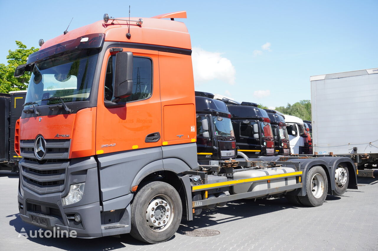 MERCEDES-BENZ Actros 2542 , E6 , BDF , Chassis 7m , wheelbase 4,9 , retarder , container chassis