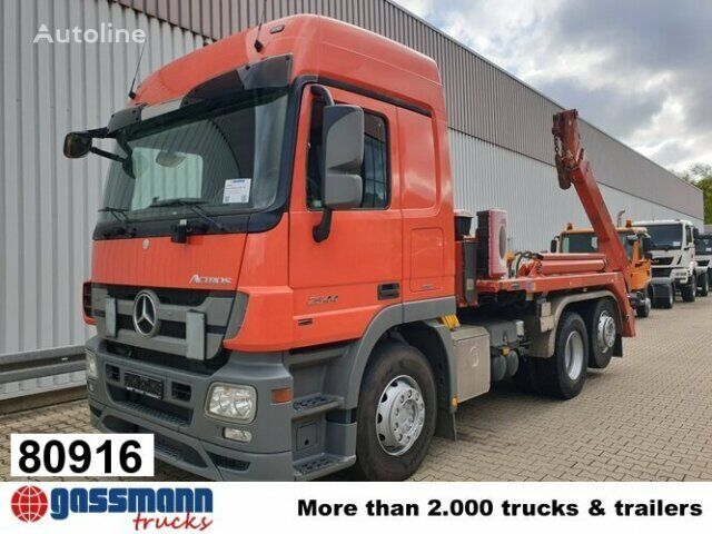 MERCEDES-BENZ Actros 2544 L ADR container chassis