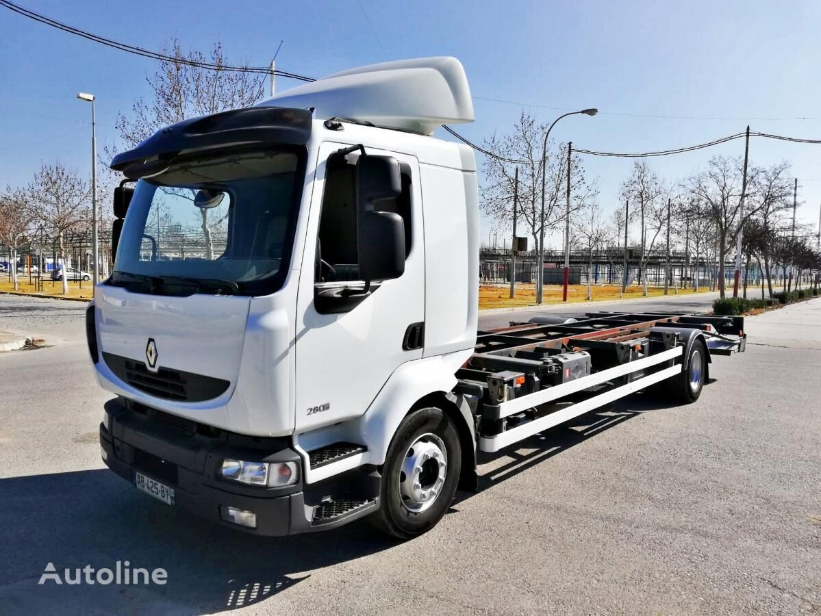 RENAULT Midlum 280.16 DxI BDF container chassis