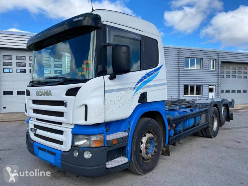 SCANIA P420 6X2 container chassis