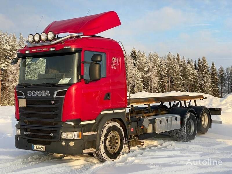 SCANIA R 520 container chassis