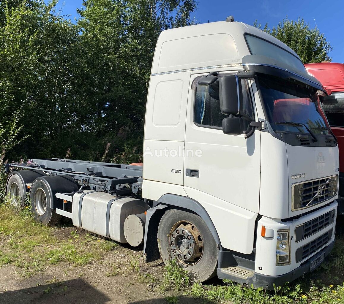VOLVO FH16 550  6x4 container chassis