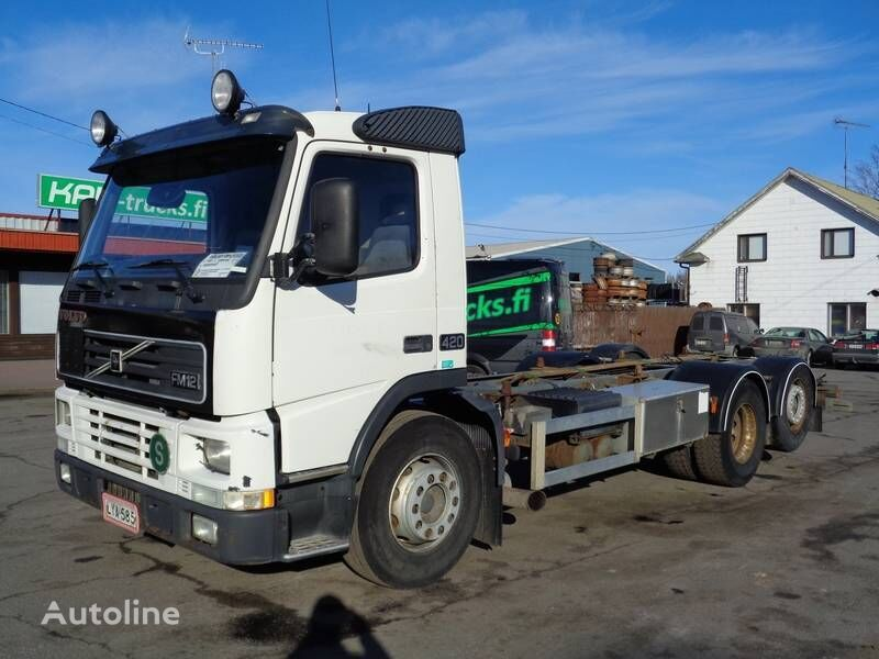 VOLVO FM12 container chassis