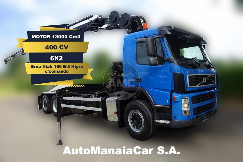 VOLVO FM13 400 container chassis