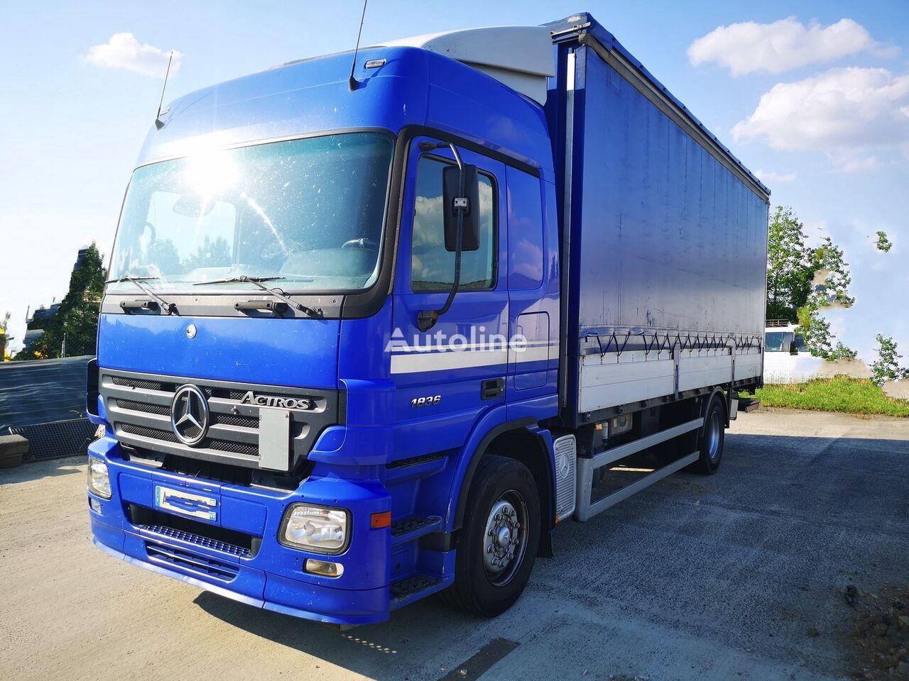 MERCEDES-BENZ Actros 1836 + LIFT EURO 3 curtainsider truck
