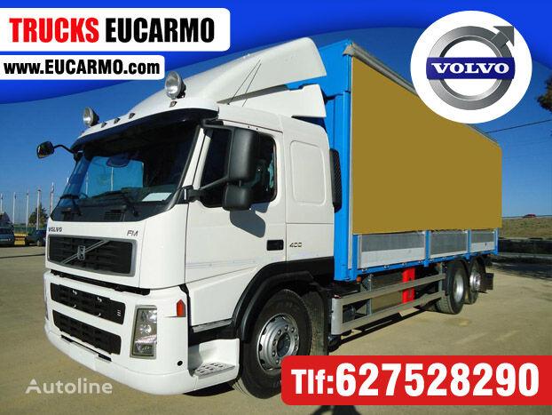 VOLVO FM 400 curtainsider truck
