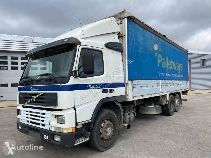VOLVO FM12 340 curtainsider truck