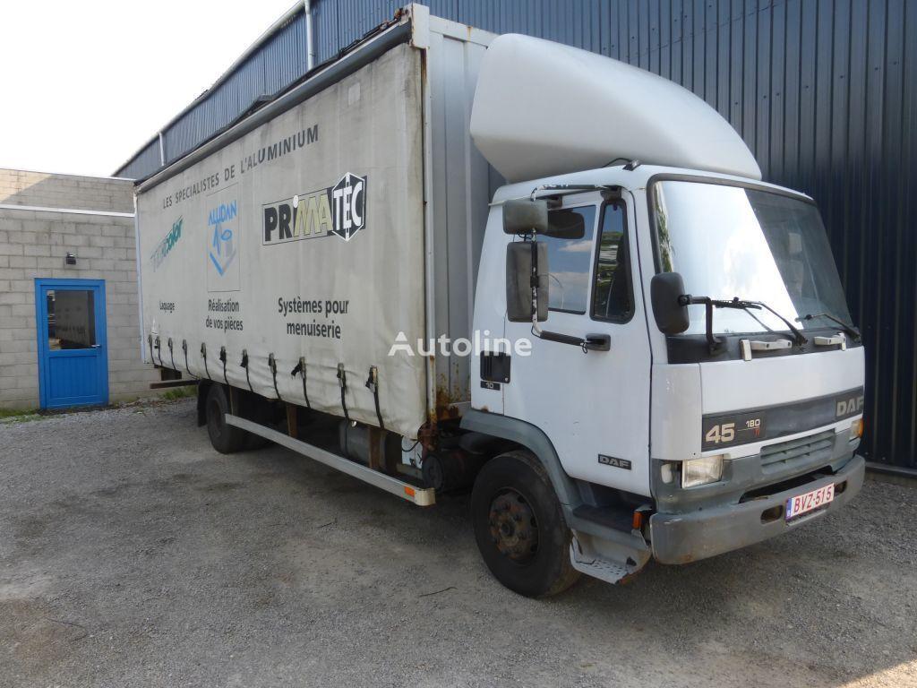 DAF 45 180 ATI LAMMES/SPRING curtainsider truck