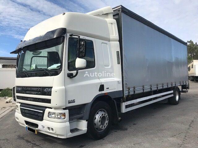 DAF CF75.310 curtainsider truck