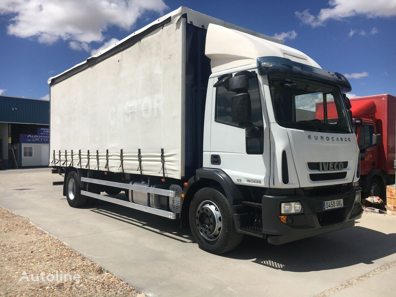 IVECO 280. 18 TON. 18 PALETS. curtainsider truck