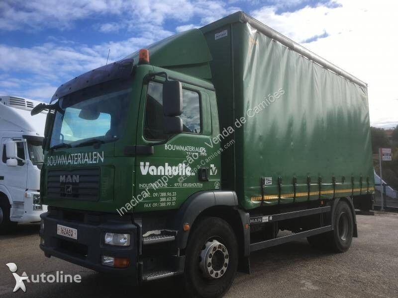 MAN 18 280 curtainsider truck
