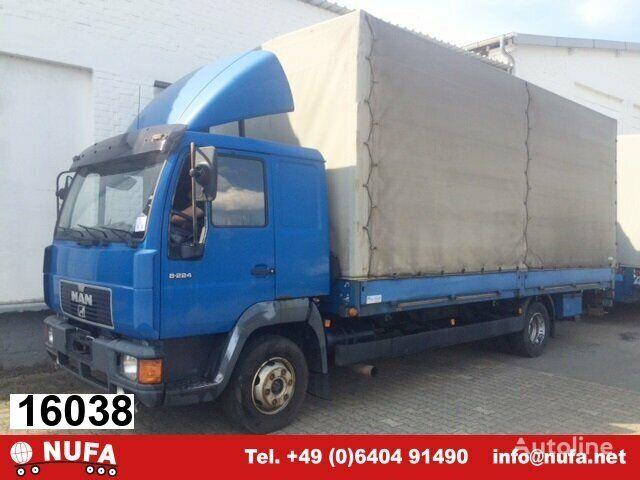 MAN L2000 8.224 FL 4x2 Dachspoiler curtainsider truck