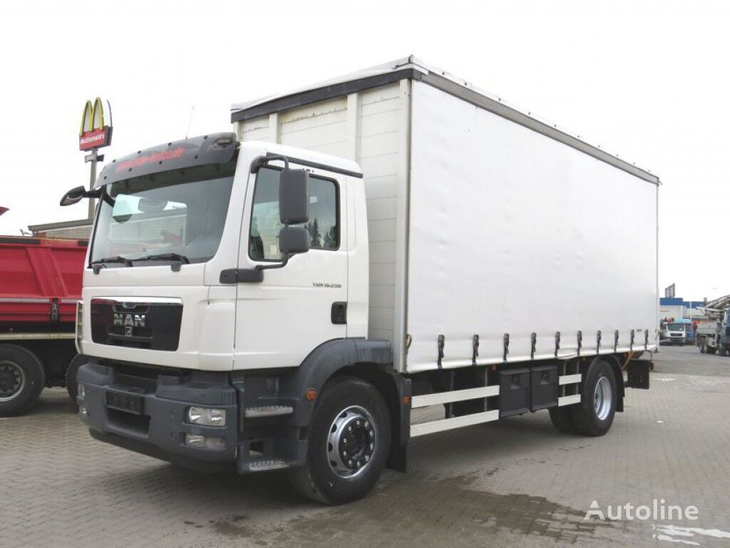 MAN TG-M  curtainsider truck