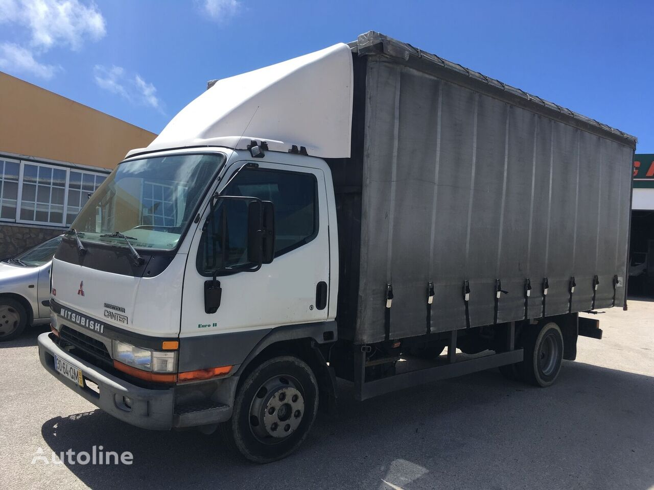 MITSUBISHI CANTER HD curtainsider truck