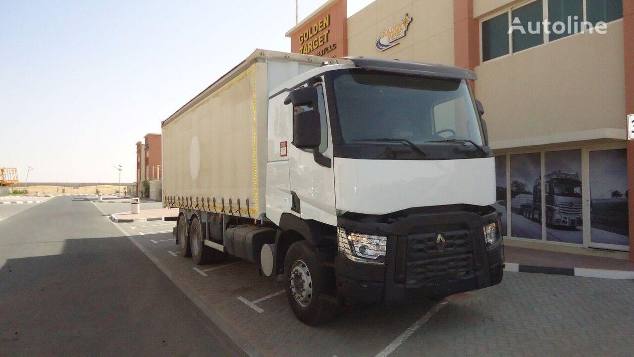 RENAULT C380  curtainsider truck