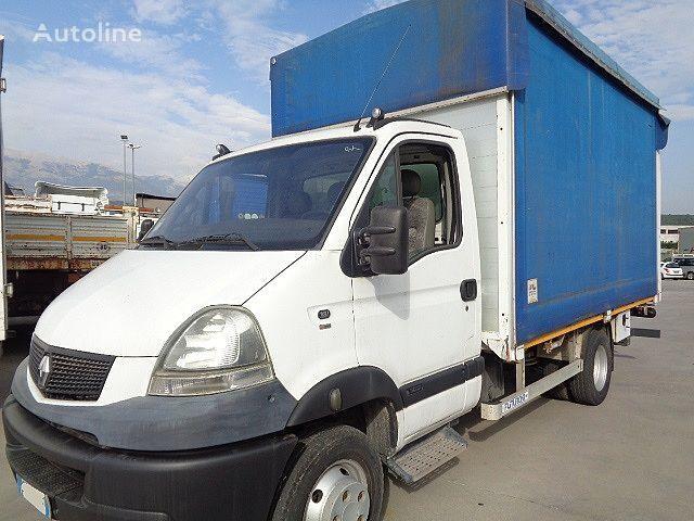 RENAULT MASCOTT 160.65 CENTINATO+PEDANA curtainsider truck