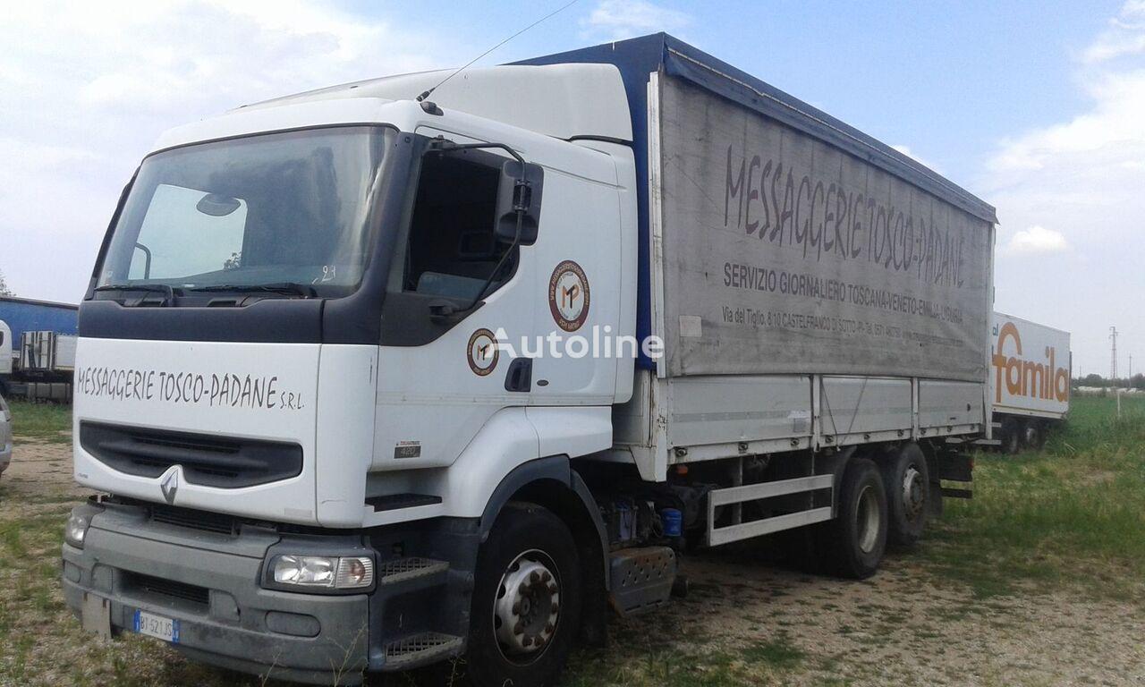 RENAULT PREMIUM 420 DCI curtainsider truck