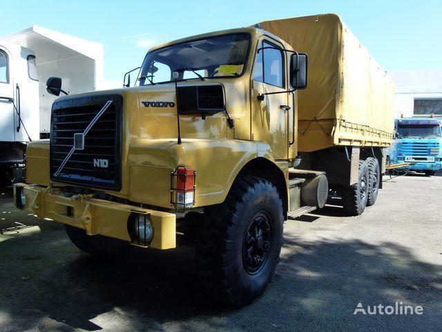 VOLVO N10 6x4 Cargo curtainsider truck