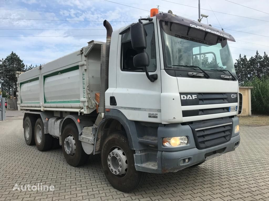 DAF CF 85.460 8X4 TIPPER 20 MC dump truck